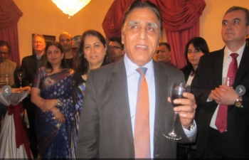 Farewell Reception hosted by H.E. Mr. Rajesh K. Sachdeva at Embassy Residence