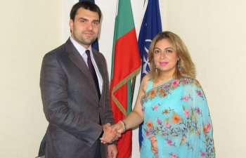 Ambassador H.E. Ms Pooja Kapur called on the Deputy Foreign Minister of Bulgaria Mr. Georg Georgiev on 11 July 2017