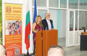 Ambassador Pooja Kapur presided over the inauguration of the academic session at the Indian Institute of Hardware Technology, Plovdiv. She addressed students and faculty on the huge potential that the digital age and the fourth industrial revolution offered India and Bulgaria to build a futuristic partnership based on technological excellence.