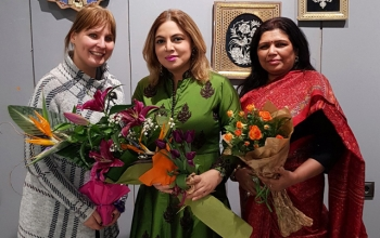 Ambassador Pooja Kapur attended the screening of the film Mary Kom as part of the MENAR Film Festival in Sofia on 23 January, hosted in partnership with the Embassy
