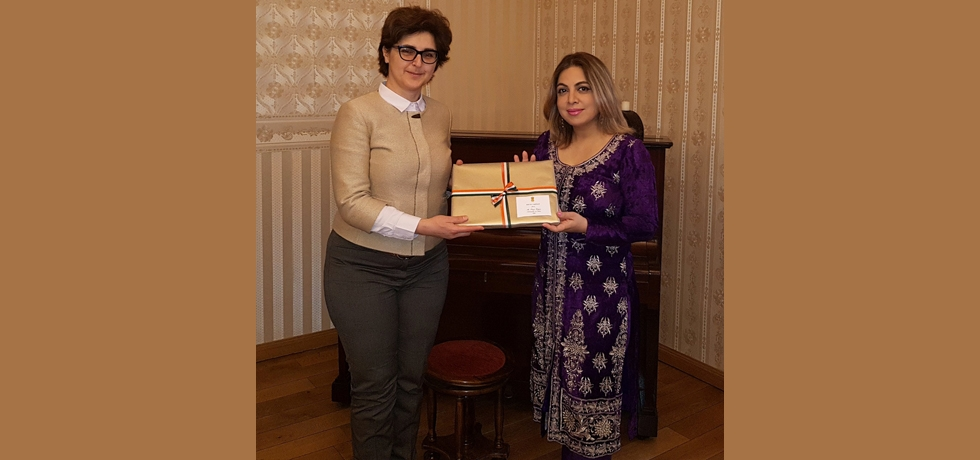 Ambassador Pooja Kapur had a productive meeting with Deputy Finance Minister of Bulgaria, Ms Marinela Petrova on 2 February 2018. They discussed bilateral matters as well as the upcoming ASEM Finance Ministers Meeting in Sofia