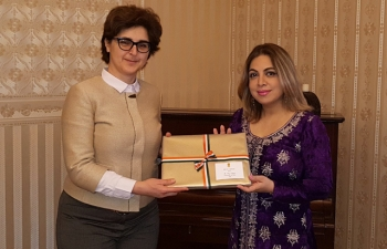 Ambassador Pooja Kapur had a productive meeting with Deputy Finance Minister of Bulgaria, Ms Marinela Petrova. They discussed bilateral matters as well as the upcoming ASEM Finance Ministers Meeting in Sofia