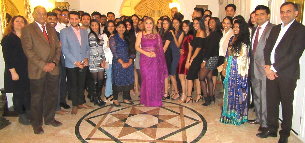 Ambassador Pooja Kapur hosted a welcome reception at Embassy Residence on 22 February 2018 for Indian and Indian origin students studying in Sofia as part of the Government of India's outreach initiatives.