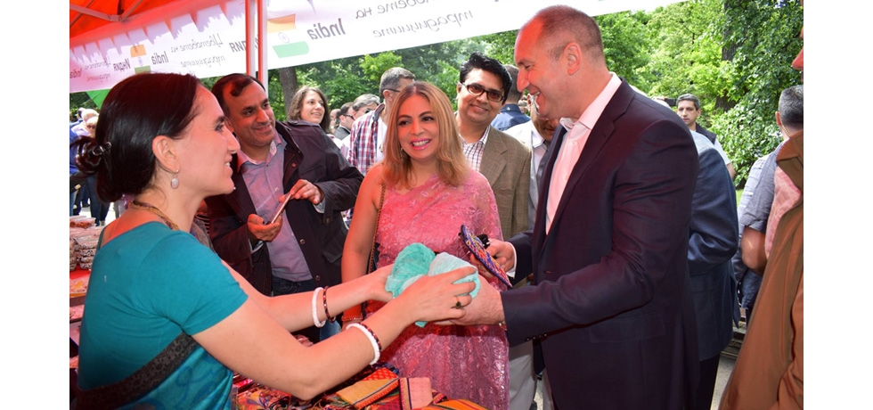 The Embassy of India participated with great enthusiasm in the Asian Festival held at the Borisova Gardens in Sofia on 12 May 2018. President of Bulgaria H.E. Rumen Radev visited the Indian stall and spoke of how fond Bulgarians were of Indian culture.