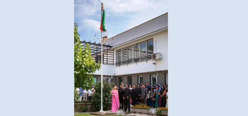 72nd  Independence Day was celebrated at Embassy of India, Sofia