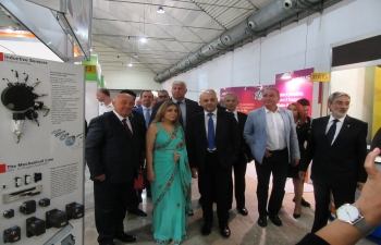 India was the largest foreign participant at the 74th  International Technical Fair in Plovdiv from 22-29 September 2018. Ambassador Pooja Kapur was a special guest at the inauguration and Press Conference of the Fair