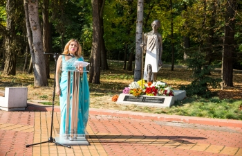 The 150th birth anniversary celebrations of Mahatma Gandhi were launched in Bulgaria on 2nd October 2018 with a function held at the newly installed Gandhi statue at Sofia's iconic South Park