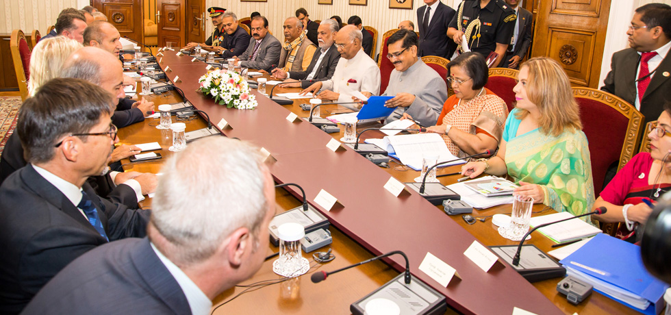 Honourable President of India Shri  Ram Nath Kovind   held detailed talks with President of Bulgaria Rumen Radev on 5 September 2018 and invited Bulgaria to become a key partner of India in defence sector, IT sector under MakeInIndia programme