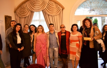 Ambassador Pooja Kapur hosted the ITEC Day Reception at the Embassy Residence. Alumni from across Bulgaria attended the event and enthusiastically shared very positive experiences from their time in India.