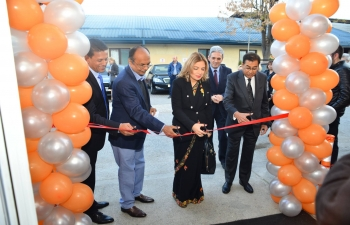 Ambassador Pooja Kapur inaugurated the Indus Medika medical laboratory in Skopje, Macedonia on 14 Nov 2018.  The inauguration was attended by the Hon'ble Minister of Investment and the Deputy Minister of Health of Macedonia and received widespread media coverage.
