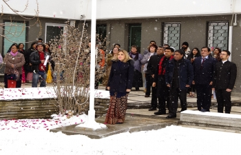 Embassy of India, Sofia celebrated the 70th Republic Day of India with great enthusiasm.
