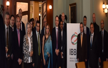 Ambassador Pooja Kapur interacted on 14 February 2019 with 25 leading CEOs from Bulgaria on the excellent opportunities offered by India in a wide range of sectors for trade, investment and technology sharing partnerships.