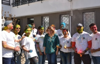 Holi Celebrations at Embassy of India Sofia