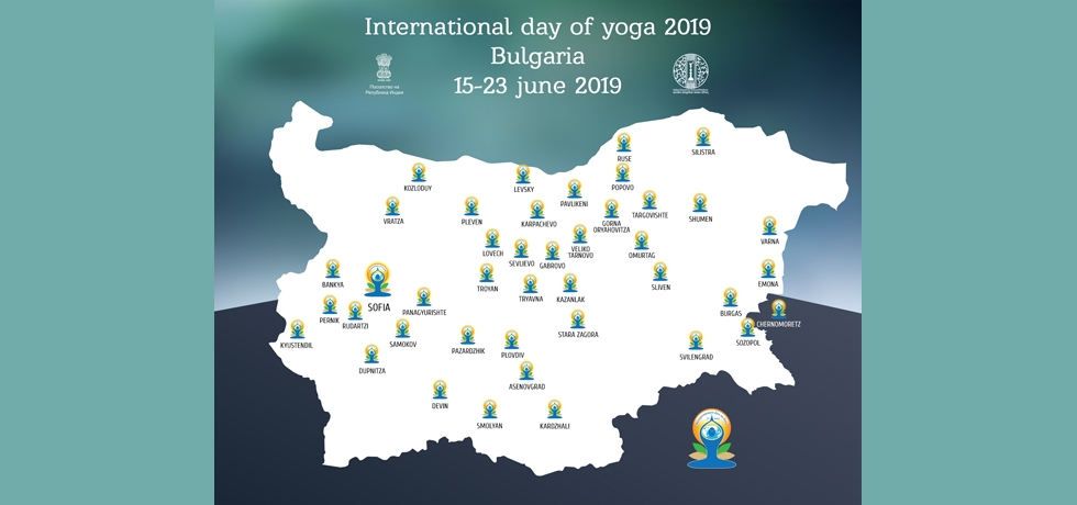 Celebration of International Day of Yoga in Bulgaria : 16-23 June 2019