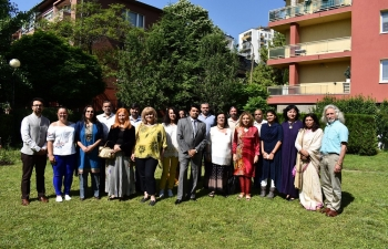 World Environment Day was celebrated in Sofia with planting of trees at the Embassy of India and the Indian Residence, in commemoration of the 150 birth anniversary of Mahatma Gandhi with a view to spreading his message of environment sustainability.