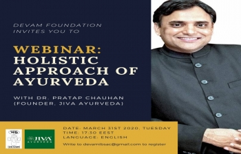 Embassy of India and Devam Foundation are organizing a Webinar on