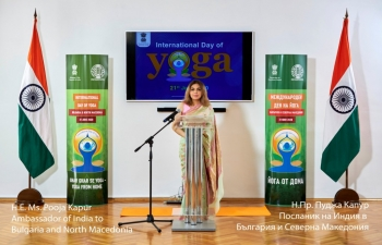 Highlights of live-streamed inaugural event of International Yoga Day 2020 in Sofia.