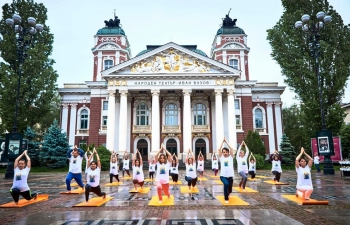 Yoga personifies unity, community and immunity