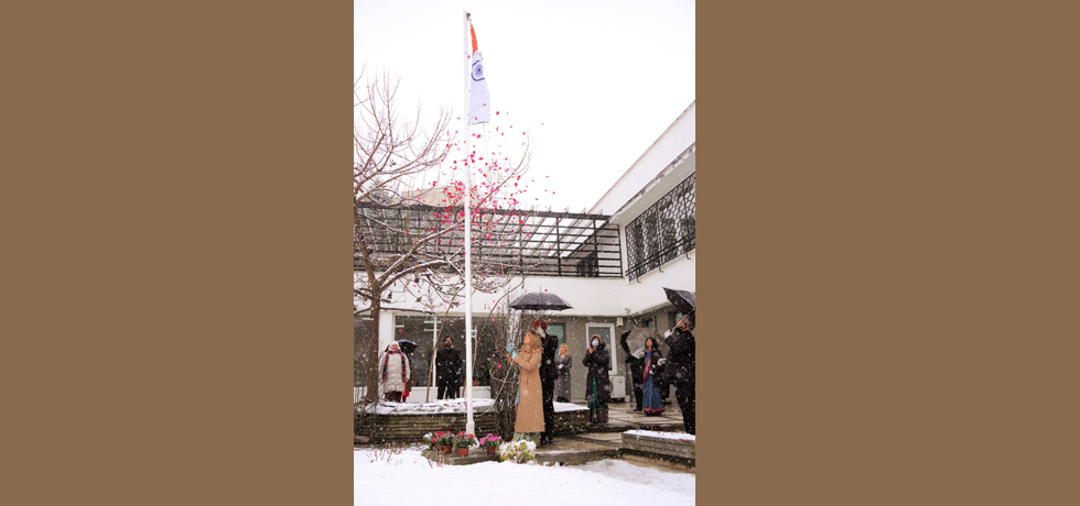 Flag hoisting on the occasion of 72nd Republic Day of India