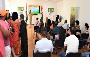 Celebration of 75th Independence Day of India in Sofia