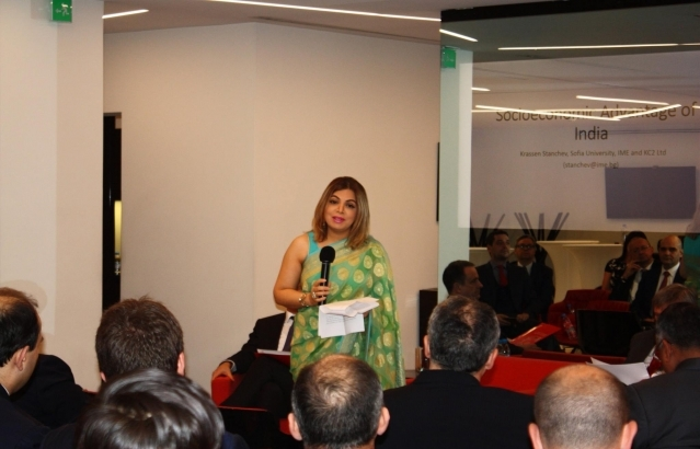 The Embassy of India and the Indian-Bulgarian Business Chamber jointly organised a business forum titled